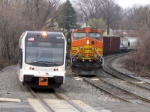 NJT 3507 and BNSF 4785