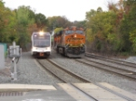 NJT 3512 and BNSF 7836