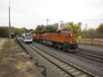 NJT 3513 and BNSF 7836