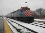 Metra at Big Timber