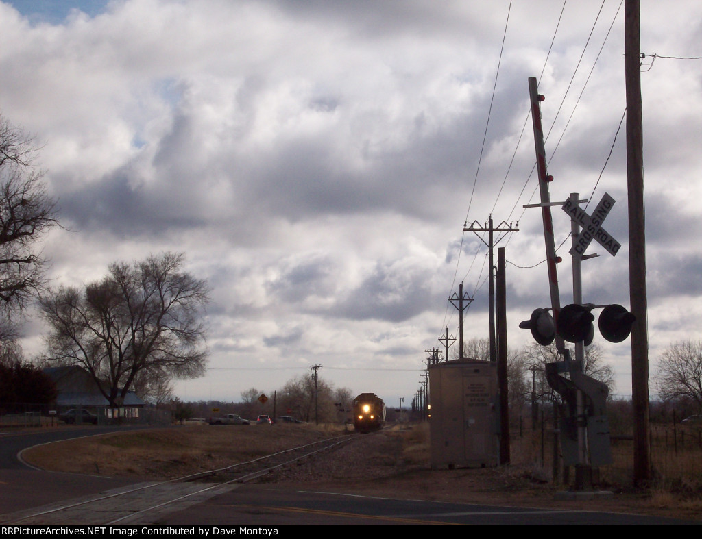 BNSF Longmont Switcher at Hygiene, CO on the Lyons Branch
