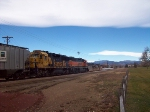 BNSF Longmont switcher on the Lyons Branch