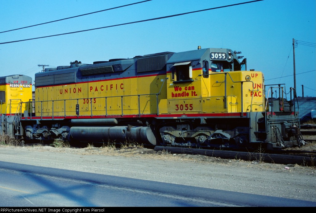 "UP SD40-2 #3055 ""We Can Handle It"""