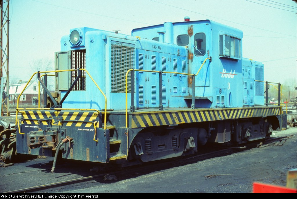 Budd (Davenport Locomotive Works DE80) #3