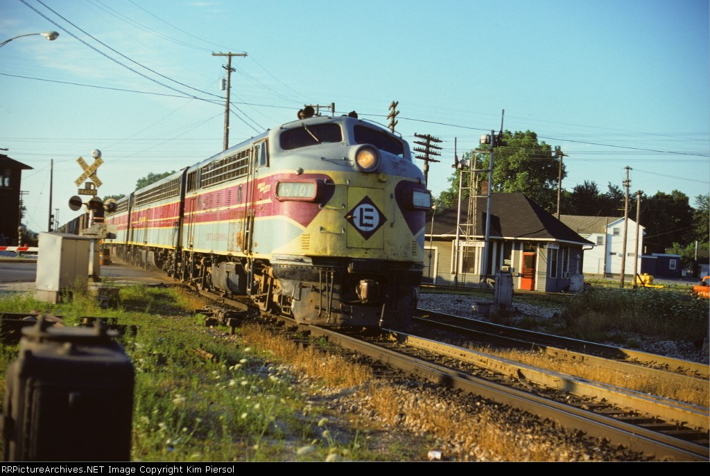 Erie Lackawanna F7A #7101