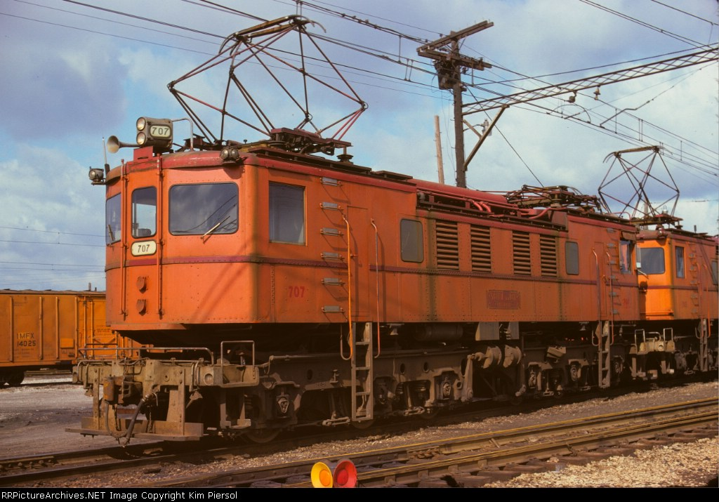 Chicago, South Shore & South Bend Boxcab #707
