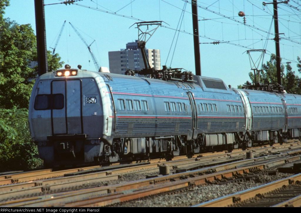 Amtrak Metroliner #857
