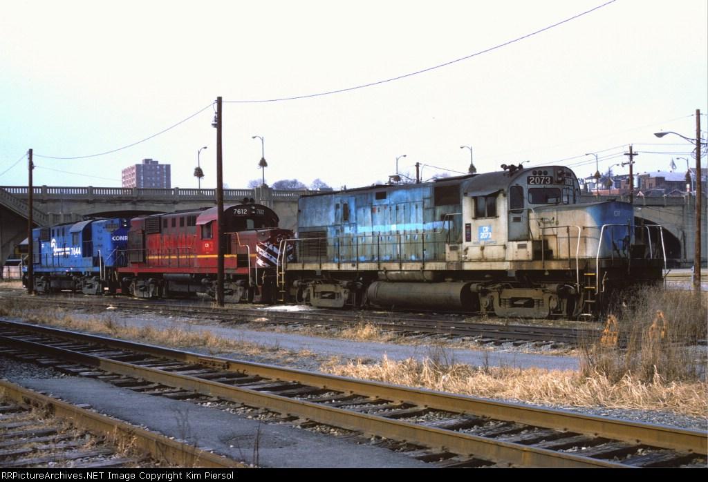 Colorful Conrail Alco Lashup