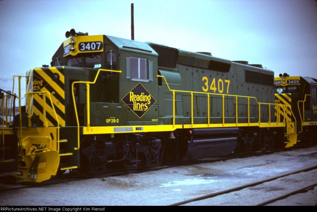 RDG GP39-2 #3407