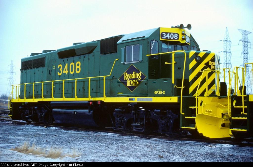 RDG GP39-2 #3408