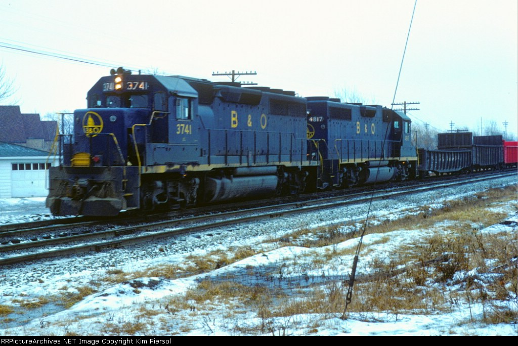 Baltimore & Ohio GP40 #3741
