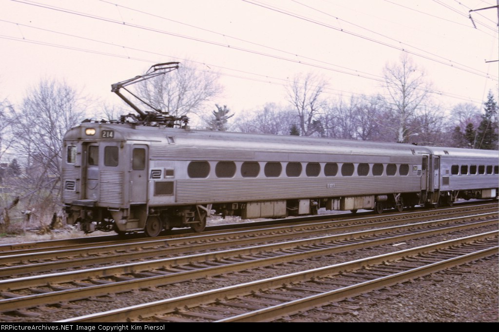 Penn Central Silverliner II #214