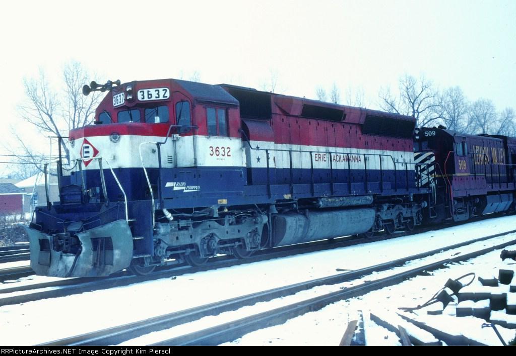 Erie Lackawanna (Post Conrail) Bicentennial SD45 #3632