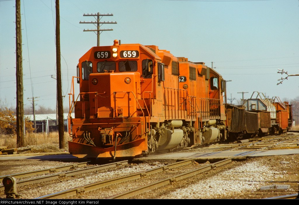 Elgin, Joliet & Eastern SD38-2 #659