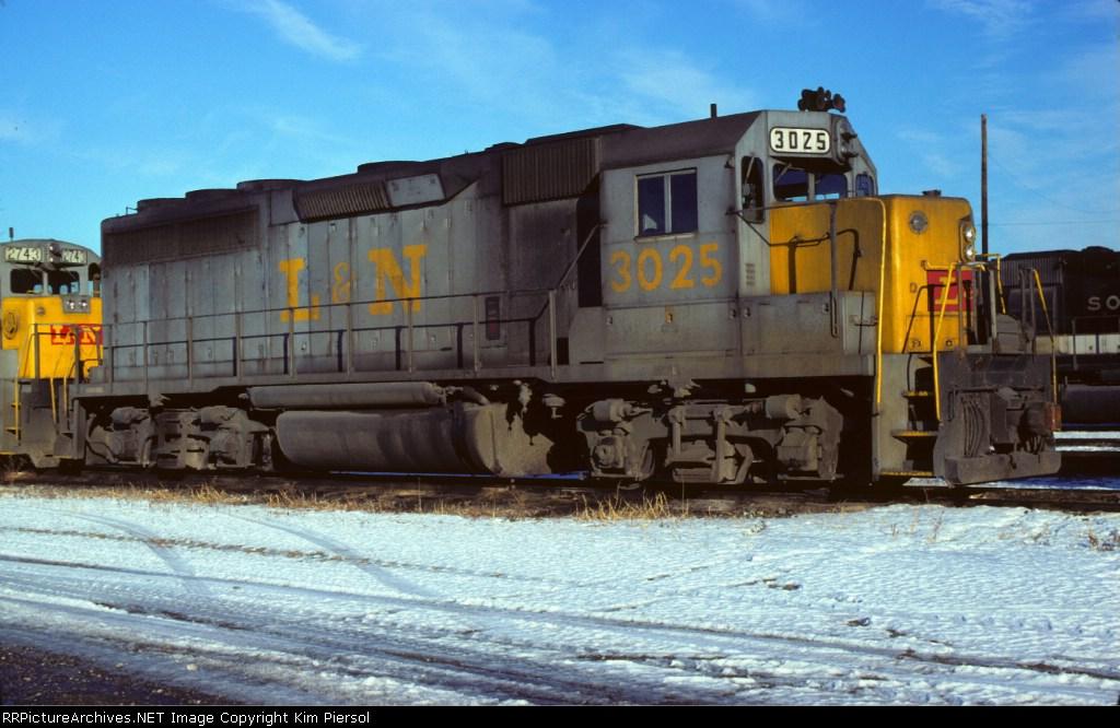 L&N GP40 #3025