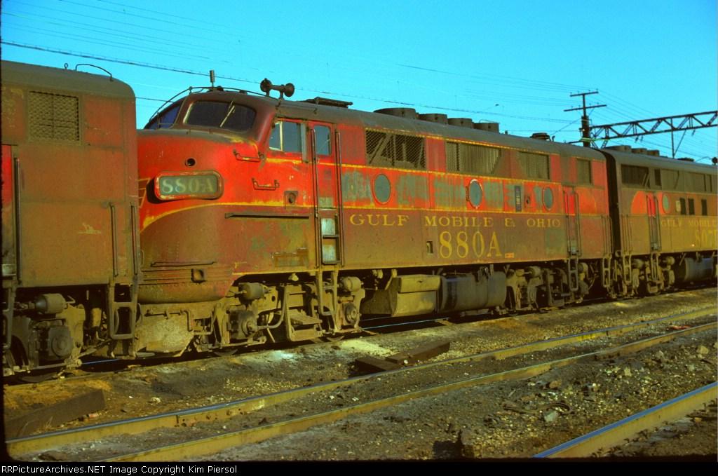 Gulf, Mobile & Ohio F3A #880A