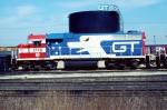 """GTW GP38AC Bicentennial #1776 """"ThunderChicken"""""""