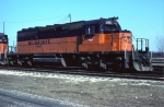 Milwaukee Road SD40-2 #195