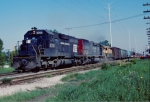Penn Central, Southern Pacific & Reading Power on the IHB