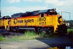 B&O GP40-2 #4103