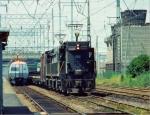 Penn Central (post Conrail) Electric Frieght and Amtrak Metroliner Sharing the NE Corridor
