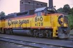 B&O GP40-2 #4128
