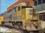 B&O GP40-2 #GM50