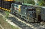 Conrail (stenciled) SD40 #6333