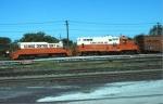 Illinois Central Gulf Yard Slug #BU1 & Rebuilt GP8 #7952