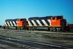 Pair of CN GP40-2LWs