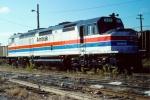 Amtrak SDP40F #525