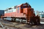 Illinois Central Gulf SD40 #6050