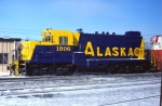 Alaska GP7u #1806 (Being Delivered)