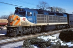 "Milwaukee Road/North West Suburban Mass Transit F40C #47 ""Village of River Grove"""