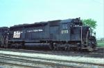 Conrail (stenciled) SD45 #6115