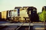 Conrail (stenciled) SD40 #6287