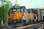 Pair of Milwaukee Road GP20 Rebuilts with Transfer Run