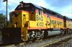 B&O GP40-2 #4102