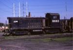 Conrail (stenciled) SW8 #8602