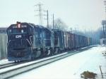 Conrail (stenciled) GP40 #3236