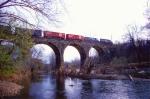 Conrail Trenton Cut-Off Action Over Neshaminy Creek