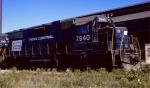 Penn Central GP38-2 #7940