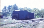 Abandoned PRR Coal Tender