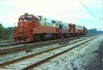 Illinois Central Gulf GP38-2 #9615