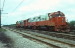 Illinois Central Gulf GP38-2 #9607
