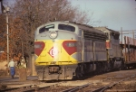 Erie Lackawanna E8A #831