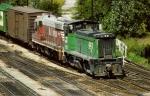 "Burlington Northern SD9 #6050 (Still in ""Q"" Paint)"