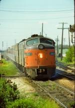 Amtrak E8A #211