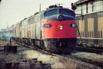 Amtrak E8A #445