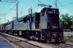 Penn Central E44s #4465 & #4442